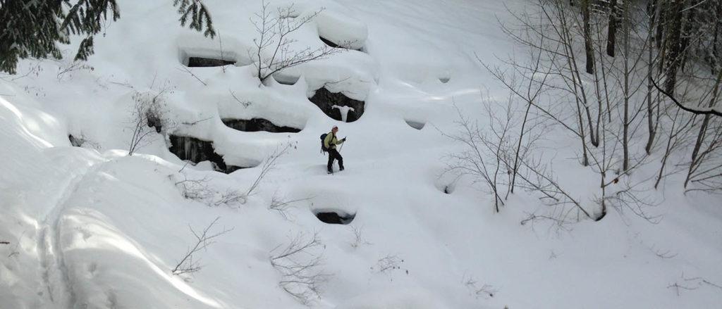 Early winter in Stehekin.