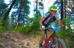 Photo of mountain biker
