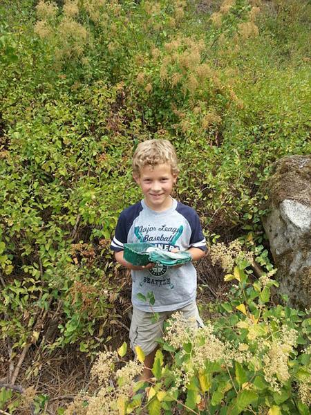 Find of a Geocache. // Photo: Sara Talley