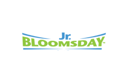 Photo of Jr. Bloomsday logo.