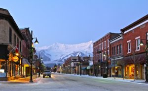 Downtown Fernie, B.C.