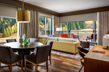 luxury accommodations in a suit at The Josie