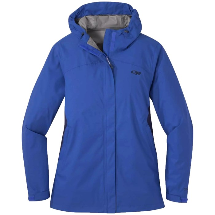 women's rain jacket made by Outdoor Research