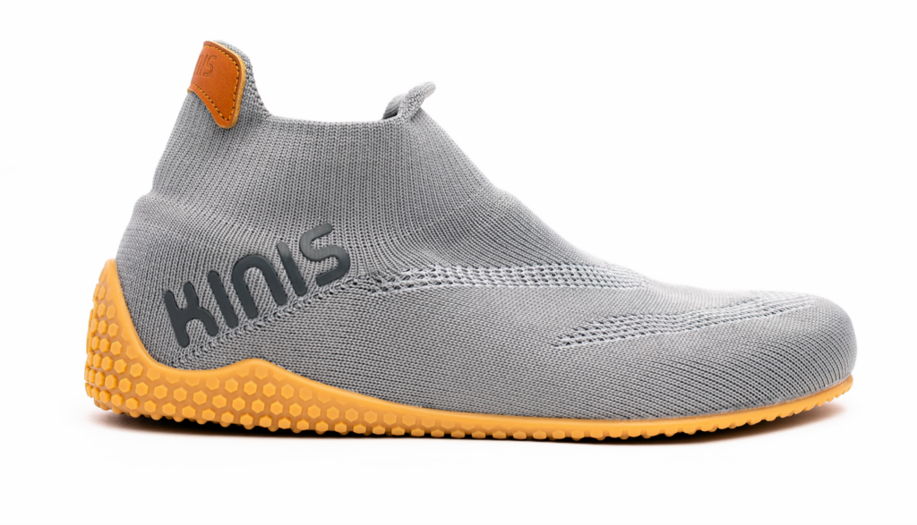 KNIS minimalist workout slip-on, laceless shoe.