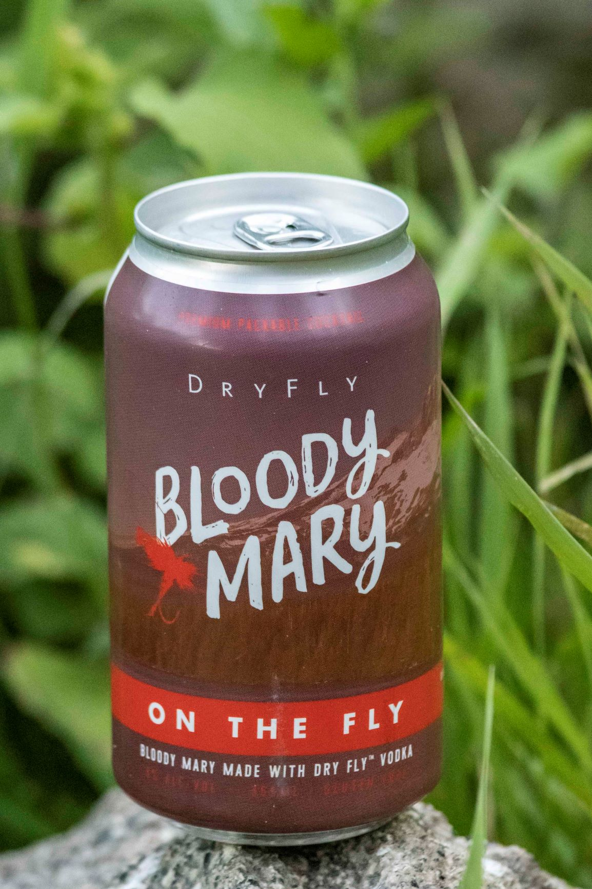 Bloody Mary canned cocktail from Dry Fly.