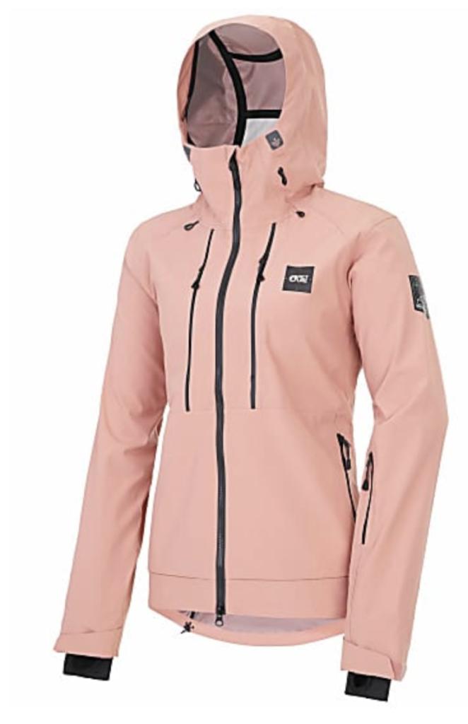 Pink Aeron Ski Jacket.