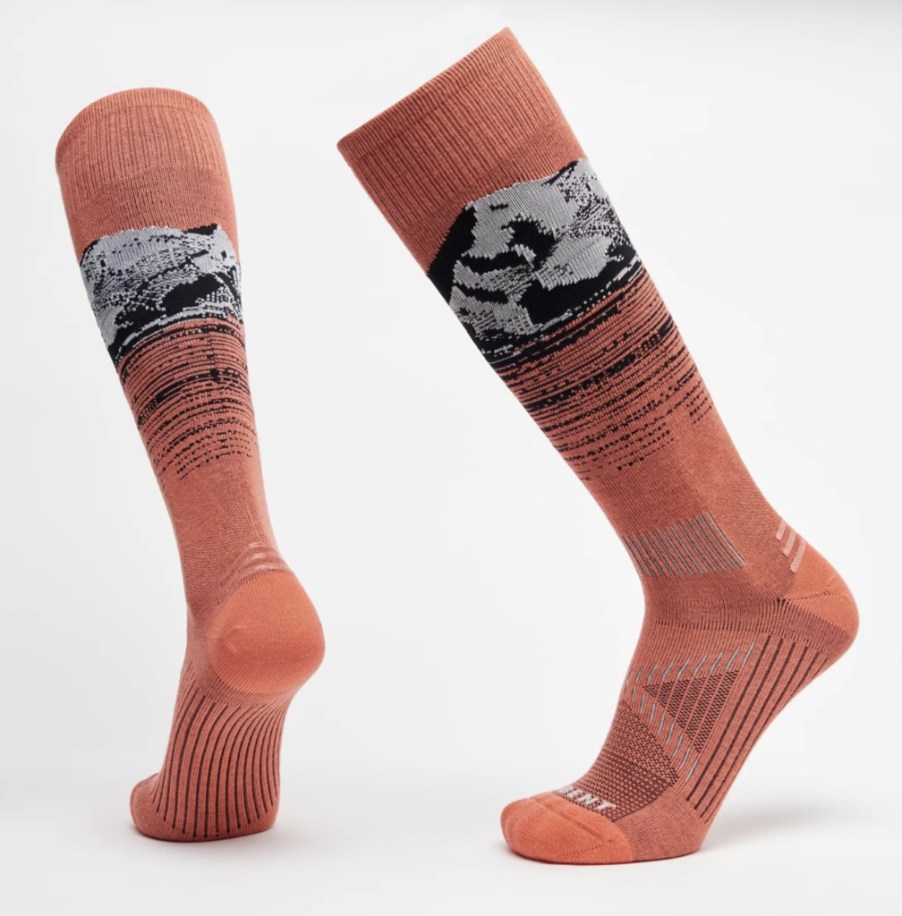 Le Bent Women's Backcountry Socks.