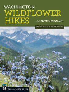 Book cover of Washington Wildflower Hikes