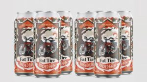 Cans for Fat Tire Torched Earth ale.
