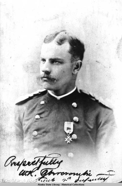 Historic black and white photo of William R. Abercrombie.