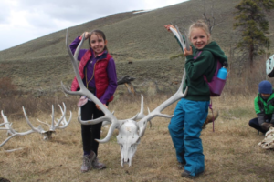 Pioneer School students enjoy hands-on learning at Yellowstone National Park.