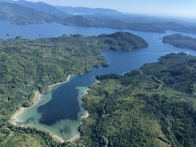 A Bird's Eye View of Vancouver Island