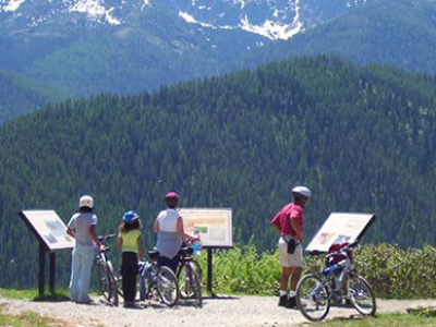 Bike the Route of the Hiawatha. // Photo courtesy of the Silver Valley Chamber of Commerce.